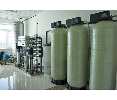 fully automatic water softening system