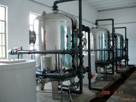 stainless steel water softening system