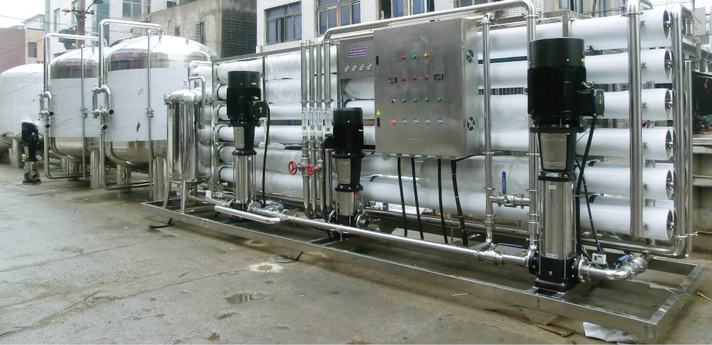20TPD seawater desalination for boat
