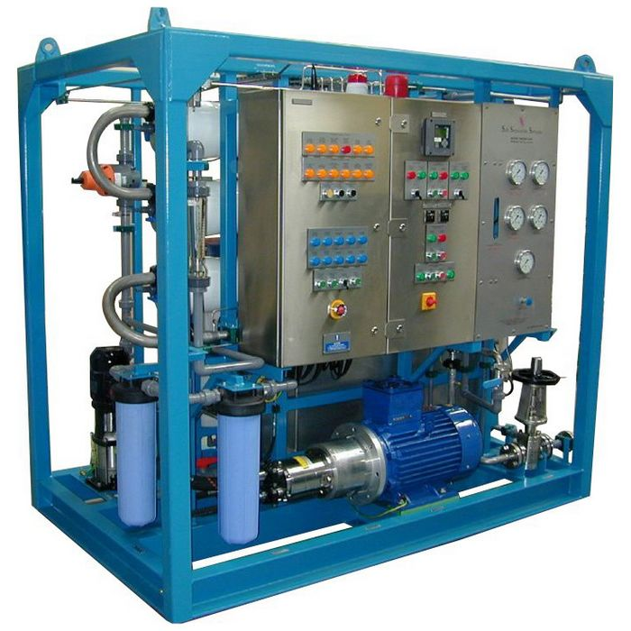 Marine seawater desalination equipment - outdoor seawater desalination devices