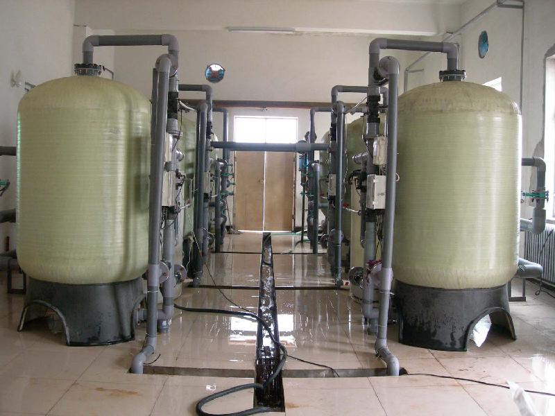 automatic water softening system
